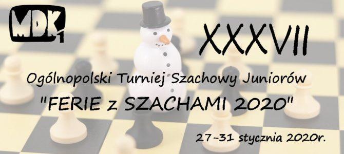 """""""Ferie z szachami 2020"""""""