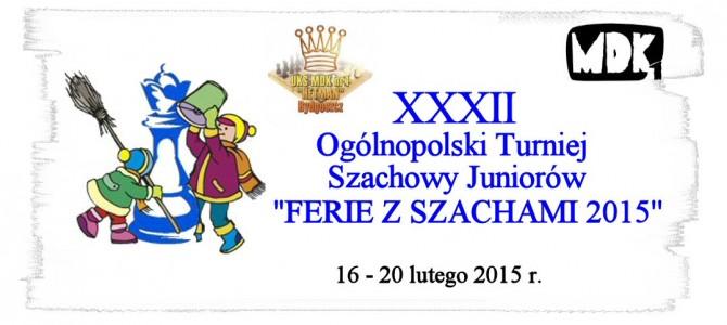 """""""FERIE Z SZACHAMI 2015"""""""