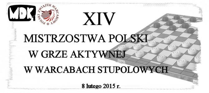 XIV Mistrzostwa Polski w warcabach stupolowych